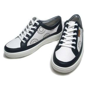 ACHILLES SORBO アキレスソルボC 043 ワイズ3E 白ネービー レースアップシューズ レディース 靴|nws