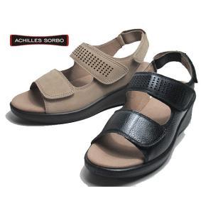 アキレスソルボC ACHILLES SORBO 438 コンフォートサンダル レディース 靴|nws