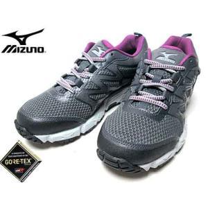 ミズノ MIZUNO ウエーブガゼル ウォーキングシューズ グレー レディース 靴|nws