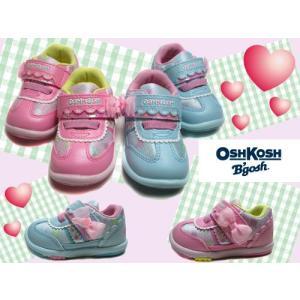 オシュコシュ OSHKOSH 女の子向けシューズ マジックベルト ベビーシューズ キッズ 靴|nws