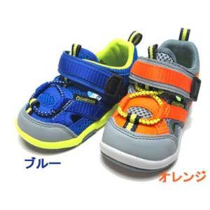 オシュコシュ OSHKOSH B'gosh 男の子用 サマーシューズ ベビーシューズ キッズ 靴|nws
