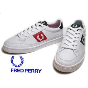 フレッドペリー FRED PERRY B7120 DEUCE LEATHER スニーカー メンズ レ...