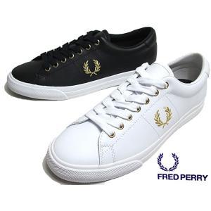 フレッドペリー FRED PERRY B8288 Underspin Leather スニーカー メンズ 靴|nws