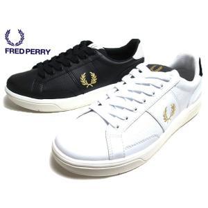 フレッドペリー FRED PERRY B8298 B200 Perf Leather スニーカー メンズ 靴|nws