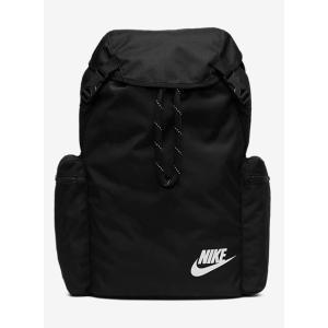 NIKE ナイキ ヘリテージ リュックサック BA6150 ブラック メンズ レディース 鞄【ラッピング不可】|nws