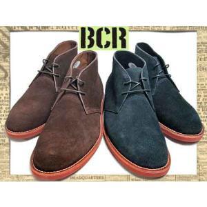 ビーシーアール スエード プレーントゥ チャッカ ブーツ BCR SUEDE PLAIN CHUKKA BOOTS カジュアルシューズ メンズ 靴|nws