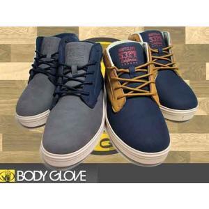 ボディグローブ BODY GLOVE バイカラー チャッカスニーカー メンズ 靴|nws