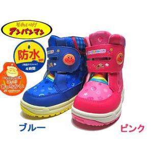 アンパンマン APM C021ESP スノトレ ウインターブーツ スパイク付き 防寒ブーツ キッズ 靴|nws