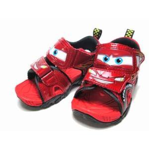 ディズニー カーズ Disney Cars サンダル レッド キッズ 靴|nws