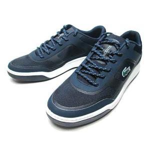 ラコステ LACOSTE エクスプロラトゥール SPORT テニスシューズスタイル スニーカー ネイビー メンズ 靴|nws