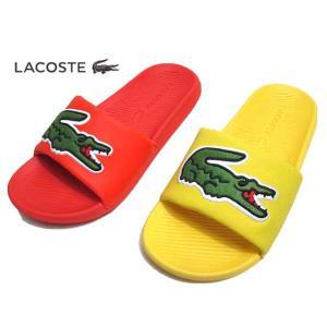 ラコステ LACOSTE CFA0035 CROCO SLIDE 120 2 US シャワーサンダル レディース 靴【ラッピング不可】|nws