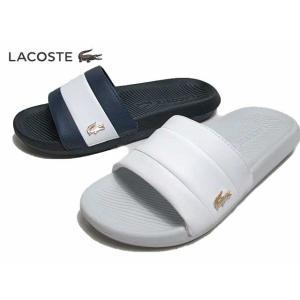 ラコステ LACOSTE CFA0036 CROCO SLIDE 120 3 US シャワーサンダル レディース 靴【ラッピング不可】|nws