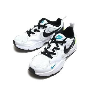 NIKE ナイキ エア マックス フュージョン PS ホワイトブラック ランニングスタイル キッズ 靴|nws