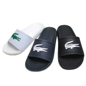 ラコステ LACOSTE CROCO SLIDE 119 1 シャワーサンダル メンズ 靴|nws
