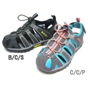 ハイテック HI-TEC COVE JR アウトドア モックサンダル キッズ 靴|nws