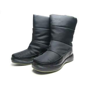 箱に傷み有り フォートゥースリーデザインズ FOUR TO THREE DESIGNS ミドルブーツ ブラック レディース 靴|nws