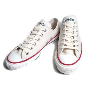 コンバース CONVERSE キャンバス オールスター J OX ナチュラルホワイト スニーカー メンズ 靴|nws