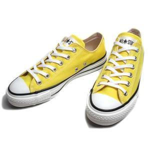コンバース CONVERSE キャンバス オールスター J OX イエロー スニーカー メンズ レディース 靴|nws