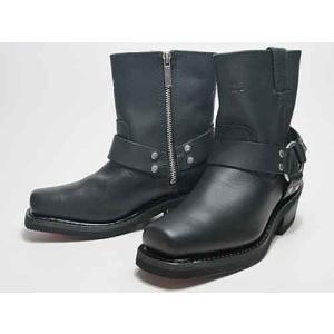 ハーレーダビッドソン HARLEY-DAVIDSON EL PASO リングブーツ ブラック レディース 靴|nws
