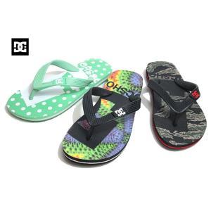 ディーシーシューズ DC SHOES DK201032 SPRAY GRAFFIK ビーチサンダル キッズ 靴【ラッピング不可】|nws