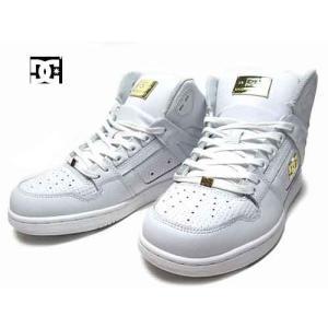 ディーシーシューズ DC SHOES リバウンド ハイ LE ユニセックス ハイカットスニーカー ホワイト メンズ レディース 靴|nws