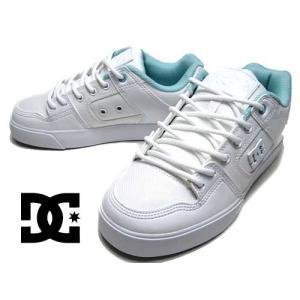 ディーシーシューズ DC SHOES PURE SE SN スニーカー ホワイトホワイトライトグレー レディース 靴|nws