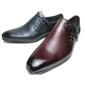 モデロ MODELLO ビジネスシューズ DM7202 サイドレースアップシューズ メンズ 靴|nws