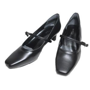 マドラスモデロ madras MODELLLO DML1001 ストラップパンプス ブラック レディース 靴|nws