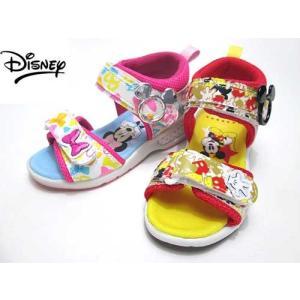 ディズニー Disney スポーツサンダル ミッキー ミニー サンダル キッズ 靴|nws