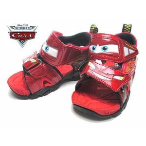 ディズニー Disney スポーツサンダル カーズ サンダル レッド キッズ 靴|nws