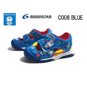 アイムドラえもん I'm Doraemon DRM C008 ブルー キッズサンダル 子供靴|nws