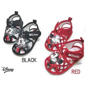 ディズニー Disney ミッキー&ミニー ベビーサンダル キッズ 靴|nws