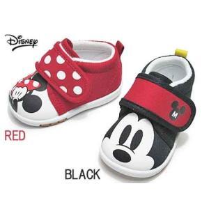 ディズニー Disney ミッキー&ミニー ベビーシューズ キッズ 靴|nws