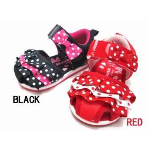 ディズニー Disney  ミニーマウス DS4152 ベビーサンダル 子供靴 キッズ 靴|nws