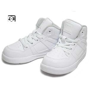 ディーシーシューズ DC SHOES Ts PURE HIGH-TOP SE UL SN ホワイト スニーカー キッズ 靴|nws