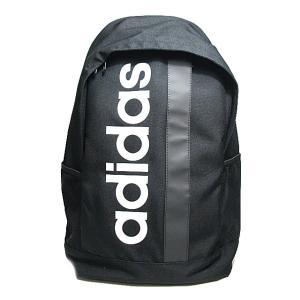 アディダス adidas DT4825 リニアロゴバックパック ブラックホワイト メンズ レディース 鞄【ラッピング不可】|nws