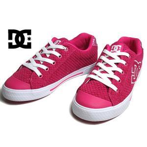 ディーシーシューズ DC SHOES CHELSEA TX SE ピンクホワイト スニーカー レディース 靴|nws