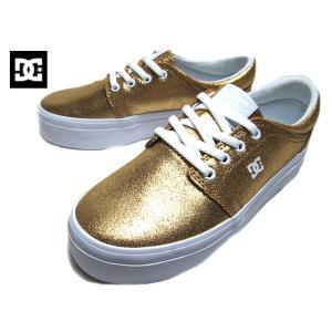 ディーシーシューズ DC SHOES TRASE PLATFORM SN DW196012 ゴールド スニーカー レディース 靴|nws