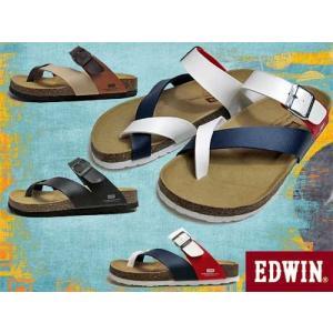 エドウィン EDWIN フットベットサンダル コンフォートサンダル サンダル メンズ 靴|nws