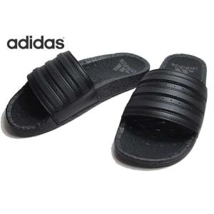 アディダス adidas EH2256 アディレッタブースト コアブラック サンダル メンズレディース 靴|nws