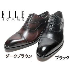 エル オム ELLE HOMME ビジネスシューズ ストレートチップ レースアップシューズ メンズ 靴|nws