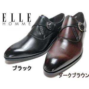 エル オム ELLE HOMME ビジネスシューズ モンクストラップ メンズ 靴|nws