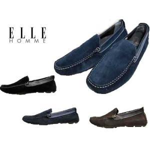エル・オム ELLE HOMME ドライビングシューズ モカシンシューズ メンズ 靴|nws