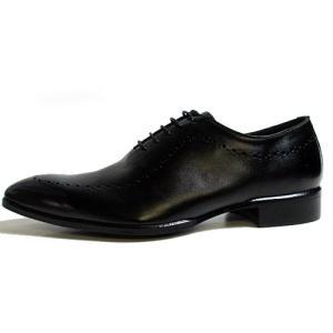 エル オム ELLE HOMME ビジネスシューズ 大きいサイズ スワールモカ レースアップシューズ ブラック メンズ 靴|nws