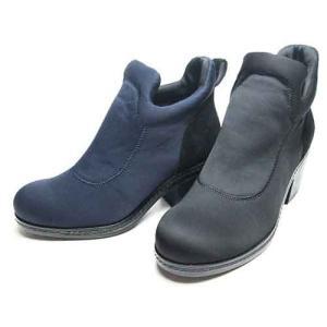 エンチャンテッド enchanted 本革素材コンビショートブーツ レディース・靴|nws