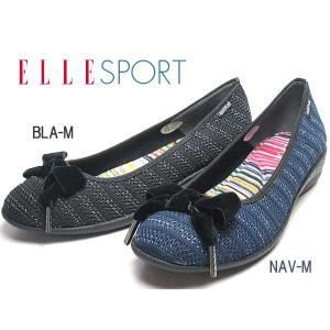 エルスポーツ ELLE SPORT カジュアルウェッジパンプス レディース 靴|nws