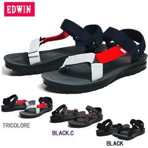 エドウィン EDWIN EW5100 スポーツサンダル メンズ 靴|nws