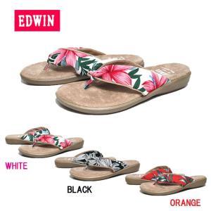 エドウィン EDWIN EW8402 リゾートサンダル レディース 靴|nws