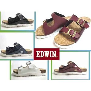 Miss EDWIN ミスエドウィン フットベットコンフォートサンダル サンダル レディース 靴|nws