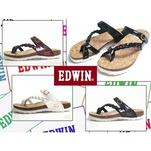 エドウィン Miss EDWIN フットベットコンフォートサンダル トング サンダル レディース 靴|nws